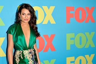 Lea Michele ritrova il sorriso e la sensualità al Fox Upfronts (FOTO)