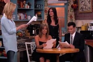 """Il cast di """"Friends"""" di nuovo insieme 20 anni dopo (VIDEO)"""