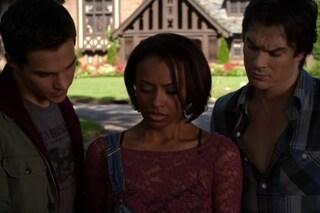 In The Vampire Diaries 6x04 Bonnie rinuncia a tornare a casa con Damon (VIDEO)