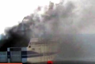 """Paura sul traghetto, incendio mentre attraversa lo Stretto di Messina: """"Avaria tecnica"""""""