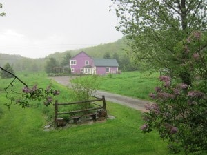 ** CORRECTS DATE OF PHOTO TO MAY 21 ** This Saturday, May 21, 2011 photo shows the site of a secluded yoga retreat in Franklin, N.Y. where there is no cell phone or Internet reception. It lets even the most avid Facebook users disconnect for a serene weekend. (AP Photo/Barbara Ortutay)
