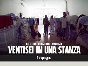 Profughi che denunciano e vengono cacciati