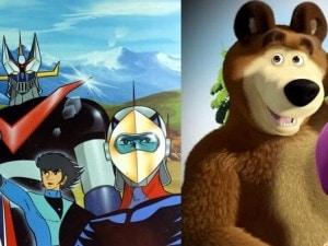 Da goldrake a masha e orso la globalizzazione dei cartoni animati