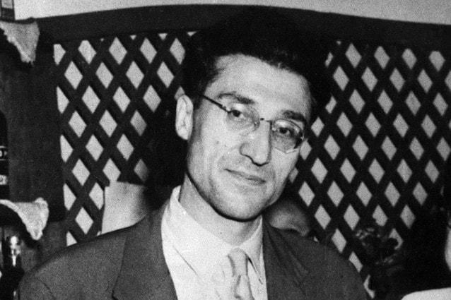 Cesare Pavese nel 1950