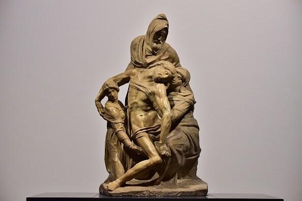 pietà Bandini, 1547-1555, Michelangelo