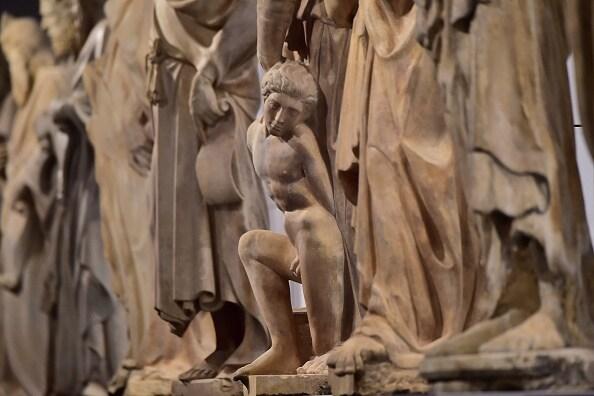 particolare di una delle sale del Museo dell'Opera di Firenze