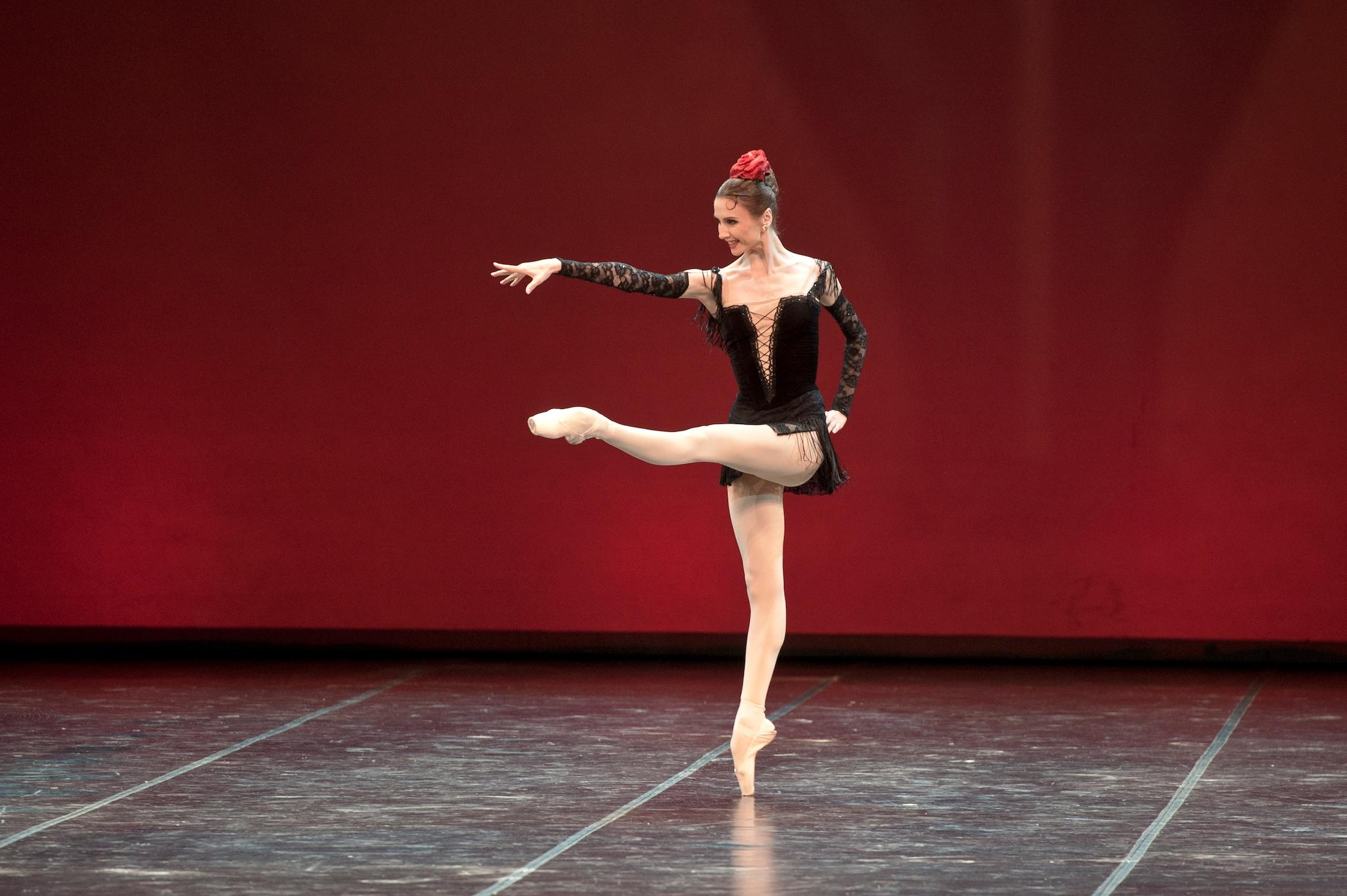 Svetlana Zakharova nella Carmen Suite che fu di Maya Plisetskaya, ph. Pierluigi Abbondanza