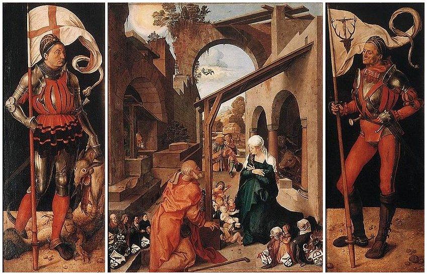 Altare Paumgartner (1496-1504), Albrecht Dürer, Alte Pinakothek di Monaco di Baviera
