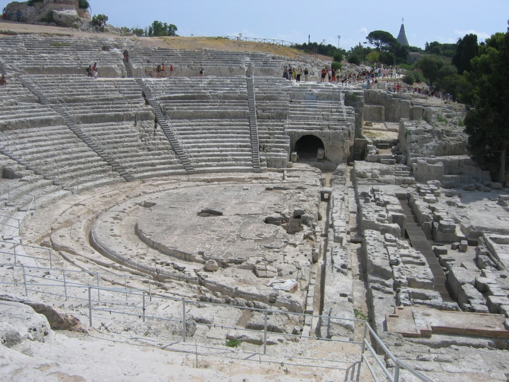 Teatro greco di Siracusa.