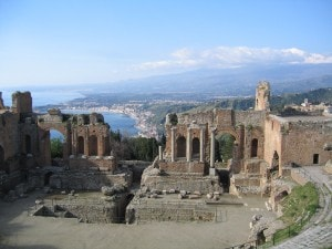 Teatro antico di Taormina.