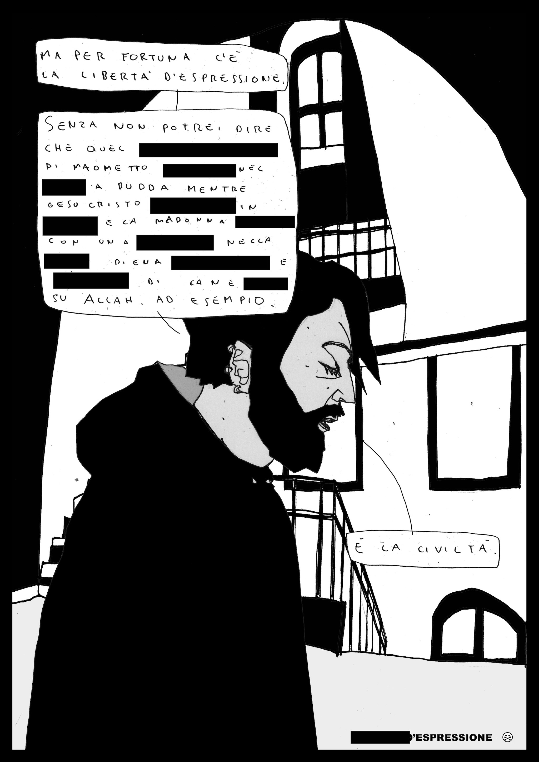 illustrazione di AkaB per Fanpage.it