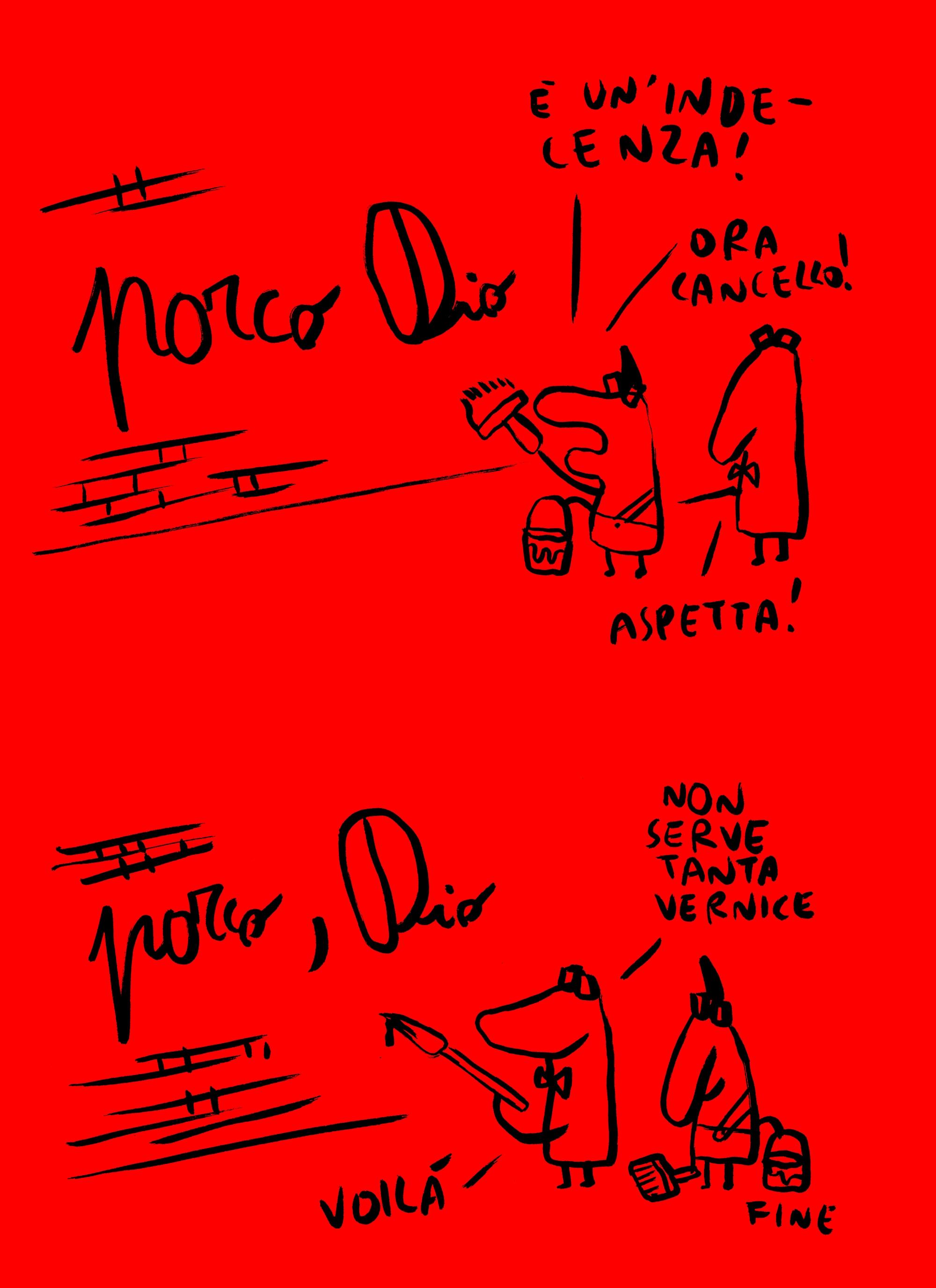 vignetta di Maicol&Mirco per Fanpage.it