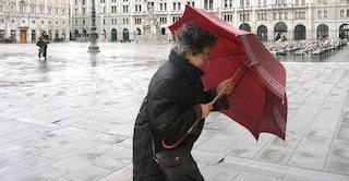 Maltempo, venti di burrasca e mareggiate: è allerta gialla sull'Italia, le regioni interessate