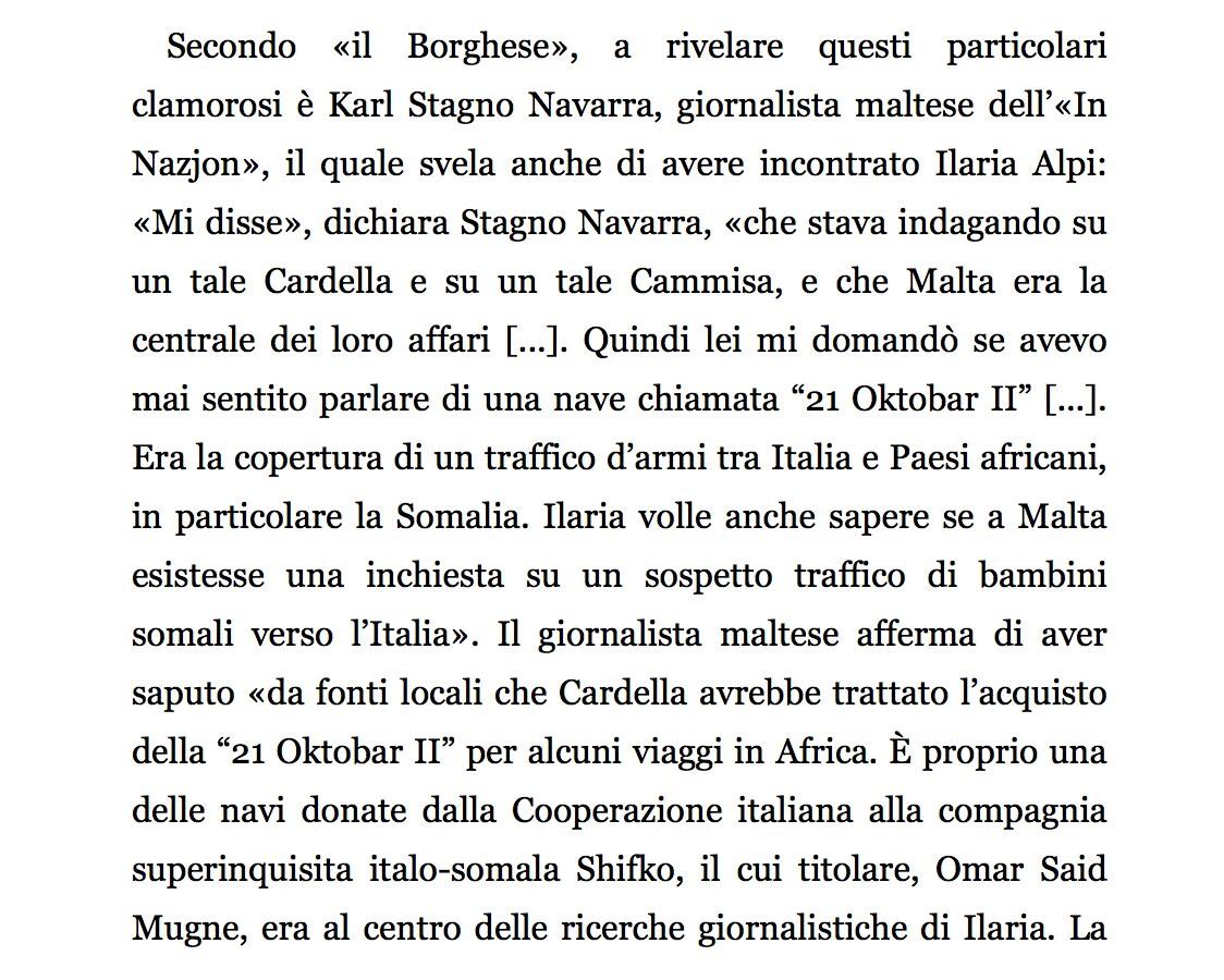 """Tratto dal libro """"Insabbiati"""" di Luciano Mirone"""