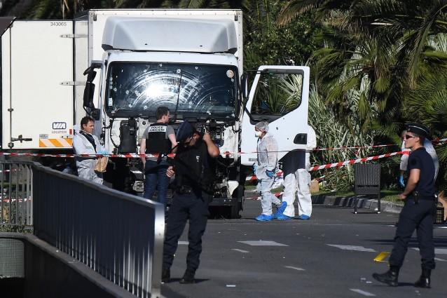 il camion che ha mietuto 84 vittime