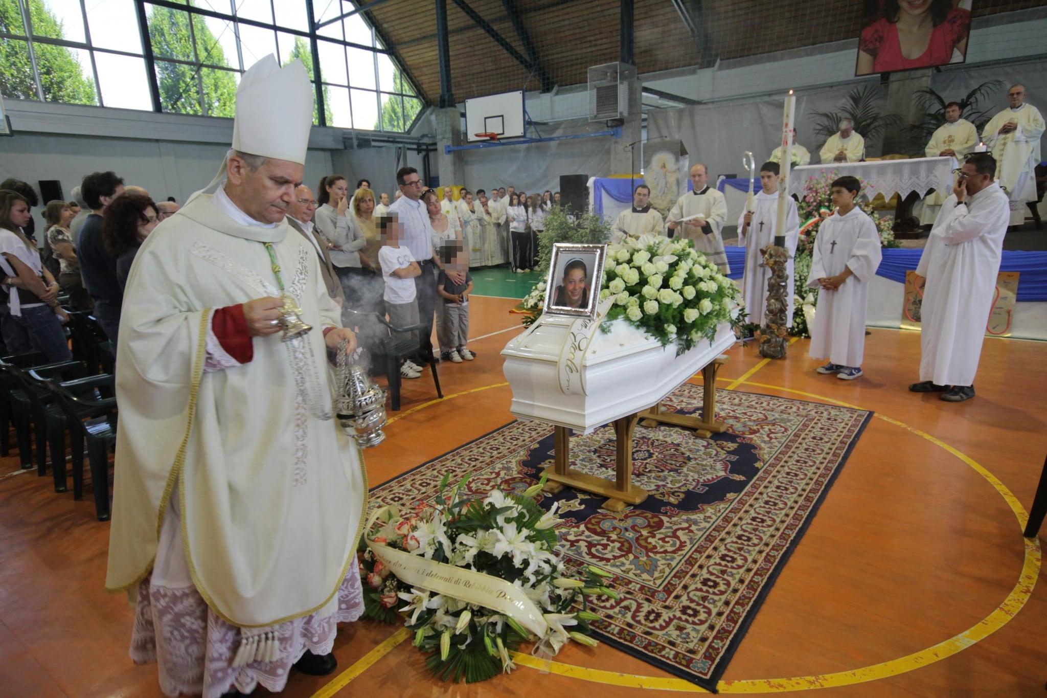 I funerali di Yara Gambirasio.