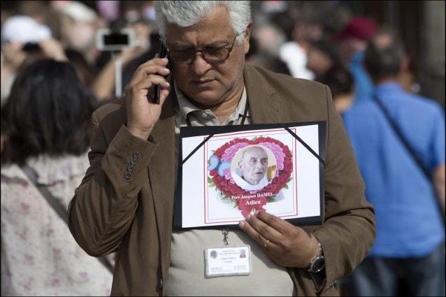 Messa in onore di padre Jacques Hamel, Parigi