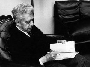 Un ritratto di Eugenio Montale