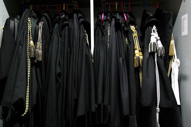 © Marco Merlini / LaPresse24–11–2004 RomaPoliticaTribunale di Roma – Sciopero dei MagistratiNella foto delle toghe