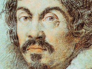 Ritratto di Caravaggio di Ottavio Leoni, 1621