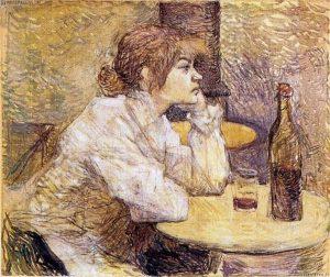 Suzanne Valadon ritratta da Toulouse–Lautrec