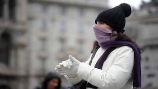 Meteo, gelo su tutta Italia: fine settimana con cieli sereni e temperature vicine allo zero