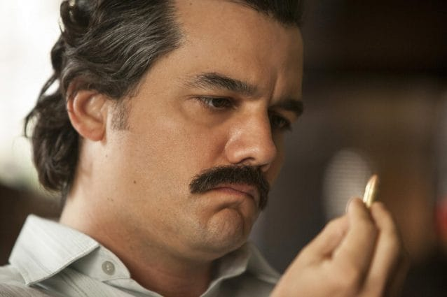 """Wagner Moura """"Narcos"""" Season 2 (2016) Picture Lux/LaPresseOnly Italy"""