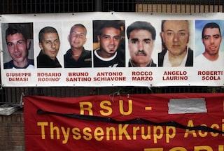 """Rogo Thyssen, dopo 12 anni le famiglie chiedono ancora giustizia: """"In galera tedeschi assassini"""""""