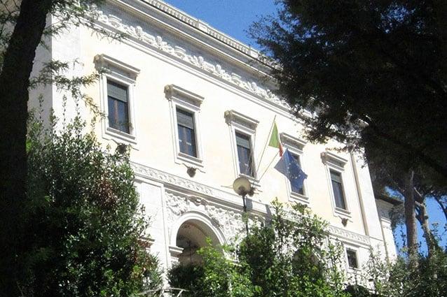 Villa Lubin a Roma, sede del Cnel