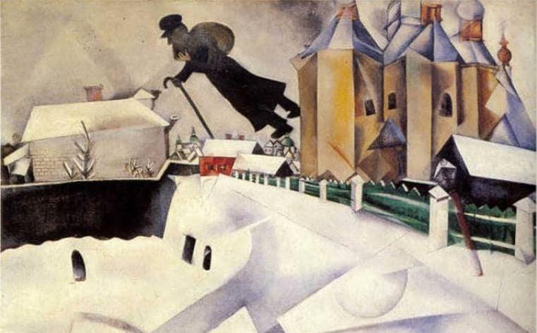 Da Arcimboldo a Chagall, cinque bellissimi quadri dedicati all\'inverno