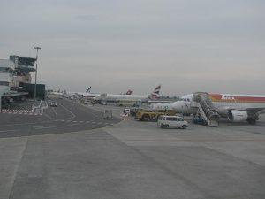Pista dell'aeroporto Marconi di Bologna (Wikipedia).