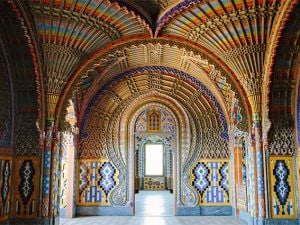Sala dei Pavoni nel Castello di Sammezzano, Firenze
