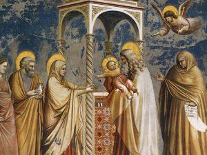 Presentazione di Gesù al tempio e Purificazione di Maria SantissimaCandelora – Giotto