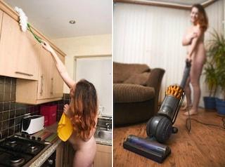 Regno Unito, impresa offre 60 euro l'ora per fare le pulizie, ma bisogna lavorare nudi