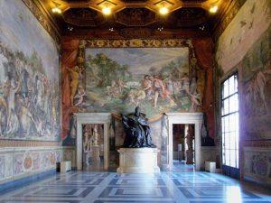 Sala degli Orazi e Curiazi ai Musei Capitolini di Roma