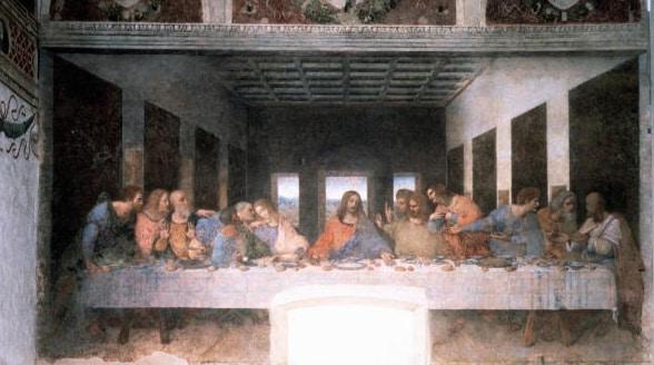 L'Ultima Cena di Leonardo da Vinci, Chiesa di Santa Maria delle Grazie, Milano