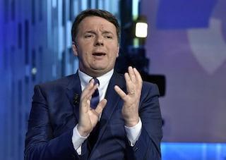 """Manovra, Renzi: """"Conte sta sereno se non aumenta le tasse, abbassi l'Iva sui pannolini"""""""