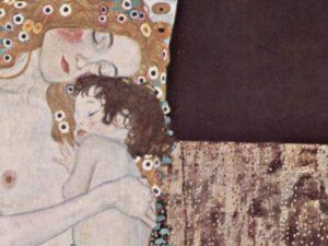 """Gustav Klimt, """"Le tre età della donna"""" (1905), Galleria Nazionale d'Arte Moderna, Roma"""