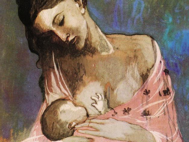 """Pablo Picasso, """"Maternidad"""", 1905"""