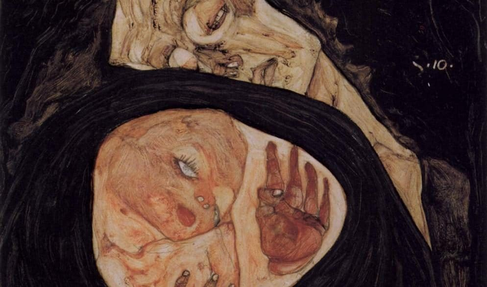 "Egon Schiele, ""Tote Mutter"" (1910)"