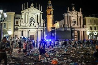 Caos piazza San Carlo a Torino: condannati a 10 anni i 4 imputati della banda dello spray