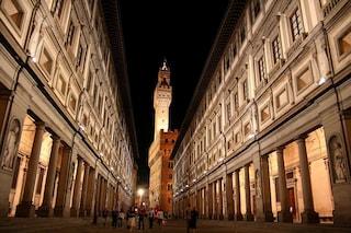 Uffizi di notte, a Firenze tornano le aperture serali estive nelle Gallerie