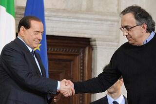 """Morto Sergio Marchionne, Silvio Berlusconi: """"Mi sarebbe piaciuto vederlo alla guida del Paese, avrebbe ridato dignità alla politica"""""""
