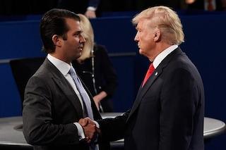 """San Donato Milanese, Trump Jr. ironizza: """"Perché non accogliere brave persone come lui?"""""""