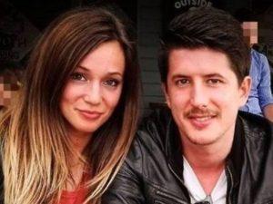 Gloria Trevisan e il fidanzato Marco (Facebook).