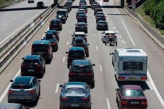 Traffico sulle autostrade: 10 km di coda sull'A1 tra Fabro e Orvieto, 3 km a Sasso Marconi