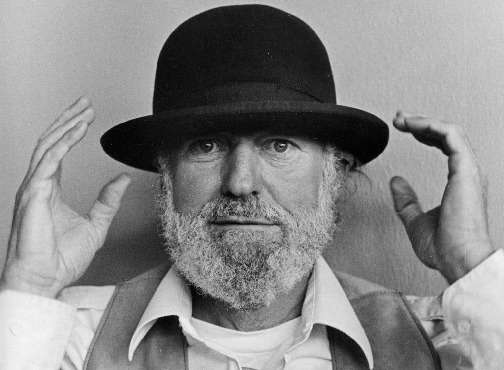 13) Christopher Felver, Portrait of Lawrence Ferlinghetti, 1982 Collezione dell'artista, Sausalito, California © Chris Felver