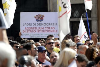 Rosatellum bis passa in commissione al Senato: proteste M5s, Mdp e Si che abbandonano i lavori