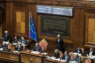 Il Senato approva il Rosatellum bis: a favore PD, FI, Lega, Alfano e verdiniani