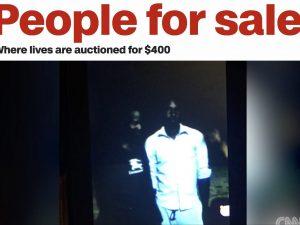 Una immagine del video pubblicato dalla Cnn